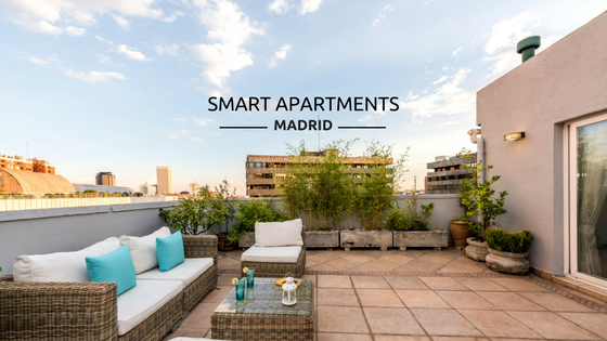 SMART APARTMENTS MADRID parking Santiago bernabeu
